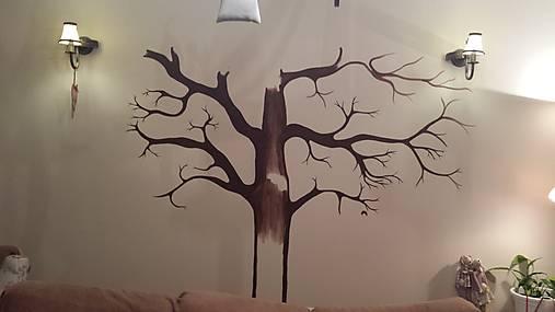 Maľba Na Stenu 1 Strom Lucyfox Sashe Sk Handmade Kresby