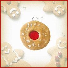 Dekorácie - Vianočné cukrovie s džemom - Kolečko - 4644716_