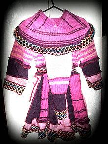 Detské oblečenie - ružová žubrienka - 4650294_