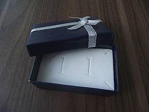 Obalový materiál - Darčeková krabička Tiefblau - 4649420_