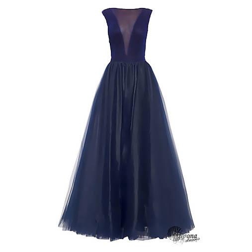 Spoločenské šaty s tylovou sukňou   Dyona - SAShE.sk - Handmade Šaty 2478421f3e