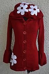 Kabáty - Kabátik červený - 4649656_