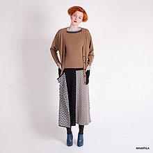 Sukne - maxisukně VINONE -originální dílová se vzory - 4649724_