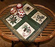 Úžitkový textil - Vianočný obrúsok - 4648911_