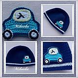 Detské čiapky - ciapka auto - 4650653_