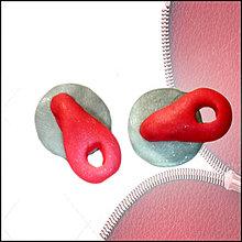 Náušnice - Zipsoviny - napichovačky NA ZÁKAZKU - 4651829_