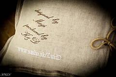 """Úžitkový textil - Vankúšik """"Všetky cesty vedú do RÍMA"""" - 4656562_"""