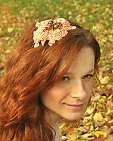 Ozdoby do vlasov - Zlatý kolovrat - 4652756_