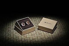 Šperky - Drevené manžetové gombíky MODO - 4653790_