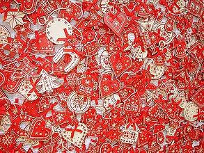 Dekorácie - Vianočné ozdoby drevené - 4654355_