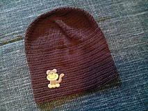 Detské čiapky - Hučka Opice - 4653823_