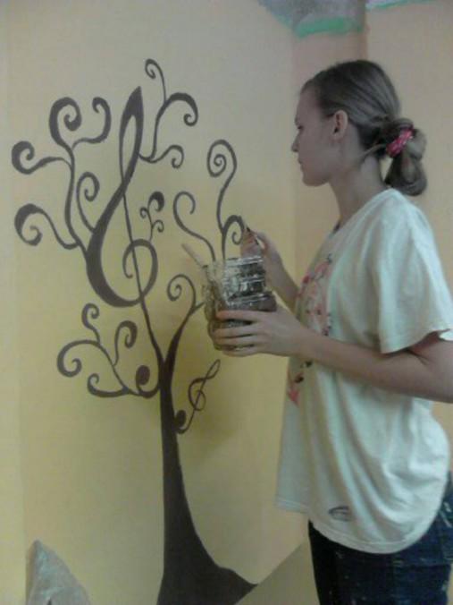 Maľba Na Stenu Cena Za Pracu Elyzium Sashe Sk Handmade Kresby