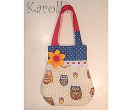 Detské tašky - Taška pre deti - Sovičková v zelenom (6) - 4654862_