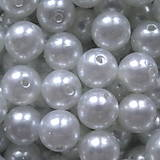 - Glance plast 12mm-biela-1ks - 4657611_
