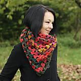 Šatky - šatka Vo farbách jesenného lístia - 4654247_