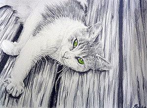 Kresby - Green II. Print - 4656946_