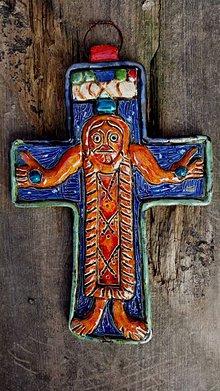 Socha - Veľkomoravský kríž z Mikulčic - 4659686_