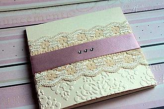 Papiernictvo - Obal na svadobné CD/DVD - 4661255_