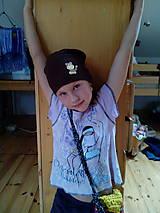 Detské čiapky - Hučka Opice - 4657941_