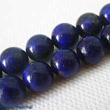 Minerály - lapis lazuli, 8 mm - 4662173_