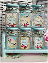 Nádoby - Vintage tea čajovničky - 4660029_