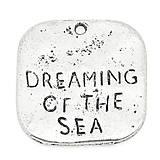 Prívesok s nápisom DREAMING OF THE SEA