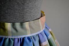 Sukne - Pastelkami vyfarbená loli sukňa - 4662380_