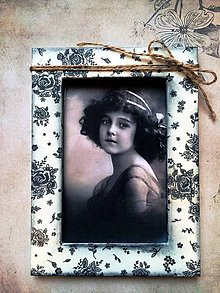 Rámiky - Vintage rámik 10 x 15 - 4658139_