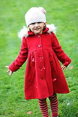 Detské oblečenie - detský flaušový kabátik - 4664699_
