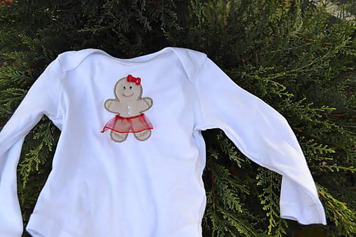 e15bdfb9f095 Vianočný perníček   JAart - SAShE.sk - Handmade Detské oblečenie
