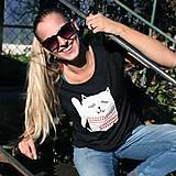 - Cat! (tričko s manžetou) - 4663337_