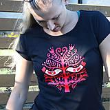 Tričká - Lady folk (tričko klasik)  - 4663368_