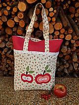 - Nákupná taška - jabĺčka - 4664719_