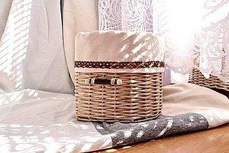 Košíky - Rohové kávenky / kus  :-) - 4663288_