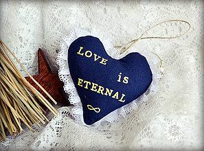 Dekorácie - LOVE is ETERNAL - 4670725_