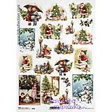- ryžový papier Vianoce - 4669631_