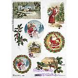 - ryžový papier Vianoce - 4669848_