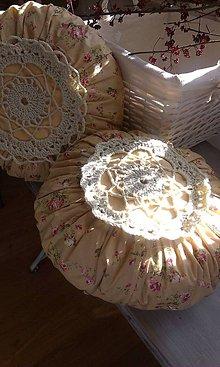 Úžitkový textil - romantický vankúšik - 4669497_