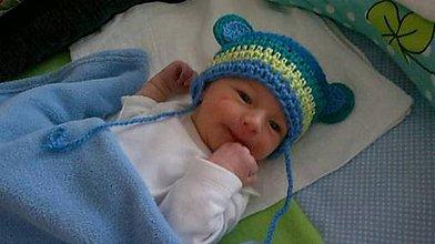 Detské čiapky - detská čiapka-p - 4673617_