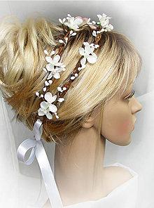 Ozdoby do vlasov - venček s nádychom letného rána, T7 - 4676388_