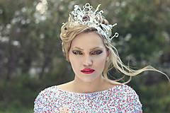 Ozdoby do vlasov - Snow Queen - 4677656_