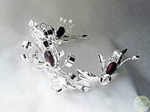 Ozdoby do vlasov - Snow Queen - 4677679_