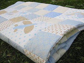 Textil - modrá ako nebo... - 4677344_