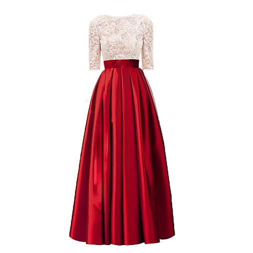 Spoločenské šaty so skladanou sukňou rôzne farby   Dyona - SAShE.sk ... 051fafb05cc