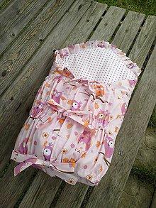 Textil - s vyberatelnou vložkou a ozdobným okrajom - 4677181_