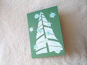Papiernictvo - Pohľadnica, vianočná náladička - 4675038_