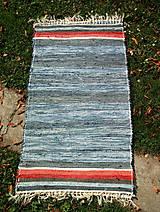 tkaný koberec - rifľový 70 x 140 cm