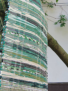 Úžitkový textil - tkaný koberec - zelený  70 x 150 cm  - 4680064_