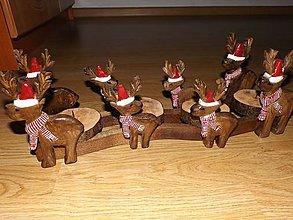 Svietidlá a sviečky - Adventný svietnik - 4682720_