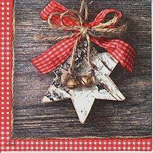 Papier - 370 vianočná hviezda - 4682120_